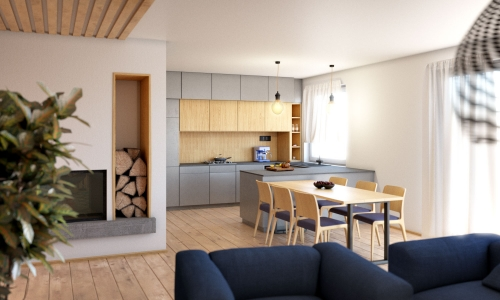 Bungalow 202 - interiér kuchyňa