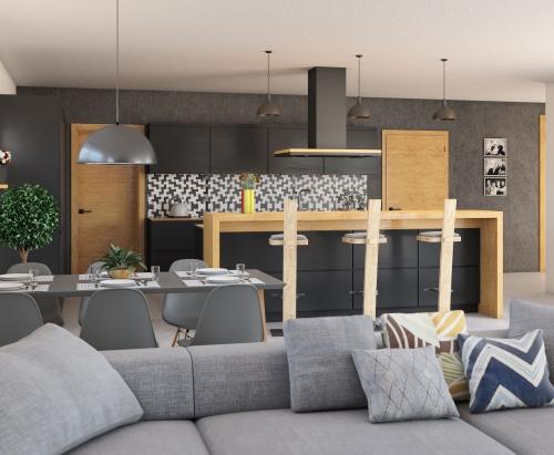 Bungalow 205 - interiér